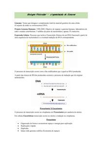 Biologia Molecular - Genoma