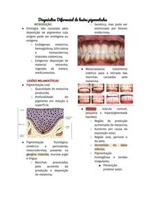 Diagnóstico Diferencial de lesões pigmentadas