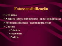 fotossensilização
