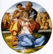 Michelângelo - The Holy Family