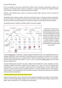 Leucemia linfoide crônica PRONTO.