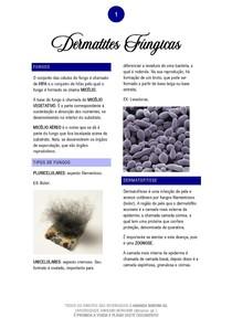 Dermatites Fúngicas - 02/2020 - Prof. César Dinola