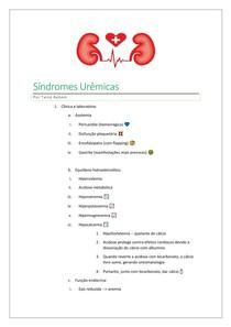 Sindromes Urêmicas