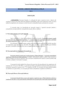 RESUMO COMPLETO DIREITO PROCESSUAL CIVIL IV