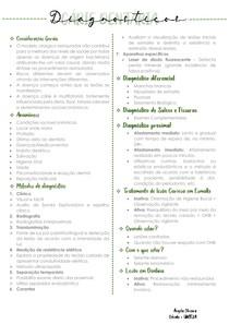 CÁRIE DENTÁRIA II - Diagnóstico