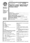 Nbr 5802   Pigmentos E Cargas   Determinacao De Residuo Em Peneiras   Metodo Umido   Processo Man