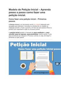 Modelo De Petição Inicial Direito Civil I 4