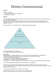 Direito Constitucional 1 (Dalton)