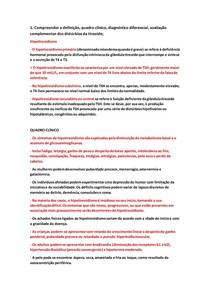 5 Tireoidites, Hipo e Hipertireoidismo