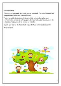 Atividades Para Infantil Educacao Infantil 3