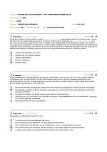 AVS - Etica e Responsabilidade Social