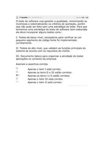 ESTACIO - AV QUALIDADE E TESTES DE SOFTWARE 7