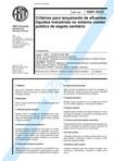 Nbr 09800 Nb 1032 - Criterios Para Lancamento De Efluentes Liquidos Industriais No Sistema Coleto