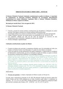 DIREITO FINANCEIRO E TRIBUTÁRIO  – PONTO 06.2