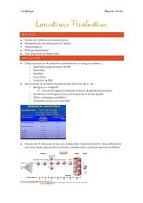 Leucocitoses e Trombocitoses
