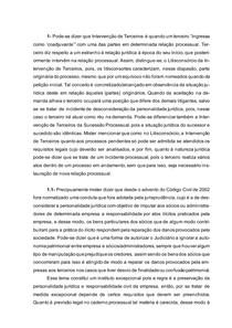 DIREITO PROCESSUAL CIVIL I - Intervenção de Terceiros, Atos de Comunicação Processual e Efeitos da Citação Válida.