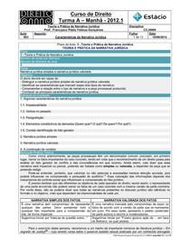 CCJ0009-WL-RA-03-TP na Narrativa Jurídica-Características da Narrativa Jurídica _10-08-2012_