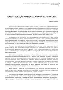 Texto II_ EA no contexto da crise