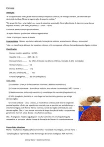 Cirrose - patologia Robbins
