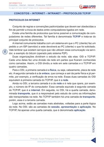 Aula 24 - Conceitos - Internet - Intranet - Protocolos TCPIP