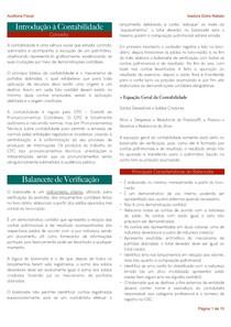 BALANÇO PATRIMONIAL E DEMONSTRAÇÕES CONTÁBEIS
