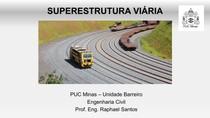 Aula 11 - Superestrutura ferroviária - Distribuição de Pressões e Dimensionamento do lastro ferroviário