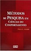Cozby, P. C. (2003). Métodos de pesquisa em ciências do comportamento Imprimir