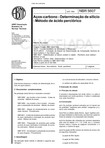 NBR 05607   1994   Aços Carbono   Determinaçao de Silicio   Método de Acido Perclorico   Norma Cancelada