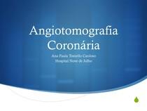 Diagnóstico por imagem da insuficiência coronariana - Parte III