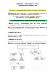 portfolio básico -exames inicias