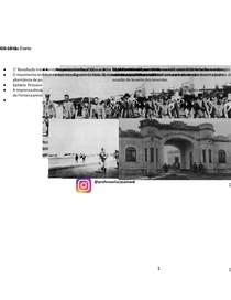 os 18 do forte - Movimento Tenentista - História do Brasil
