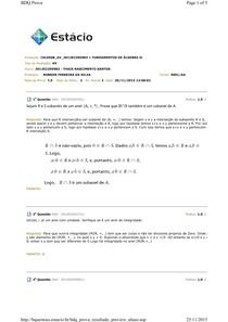 FUNDAMENTOS DE ÁLGEBRA II - AV