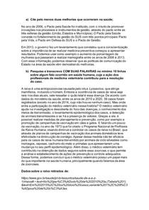 Atividade 1 - Saúde Coletiva em Medicina Veterinária
