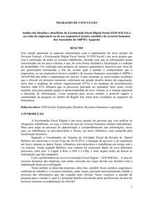 LEGISLAÇÃO FISCAL, TRABALHISTA E PREVIDENCIÁRIA (18)