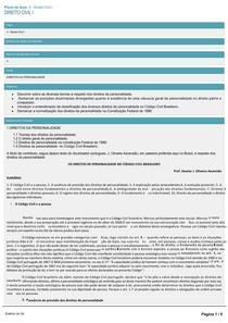 CCJ0006-WL-PA-08-Direito Civil I-Novo-15837