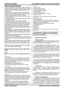 CFO   Direito Constitucional