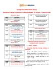 Cronograma de Atividades 2015.1