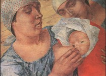 Kuzma Petrov-Vodkin  - Motherhood