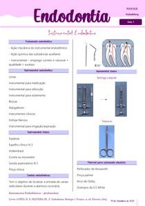 3 Instrumentos Endodônticos
