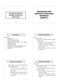 CRE   aula 6   patologias parte 1