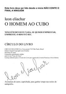 Leon Eliachar - O Homem ao Cubo (1)