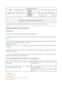 (Colorido) Caderno de Direito Internacional voltado a estudos do Exame de Ordem