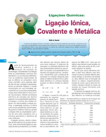 QNEsLigacoesquimicas inorganica
