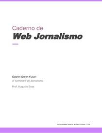Caderno de Webjornalismo