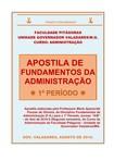 APOSTILA DE FUNDAMENTOS DA ADM - 2014