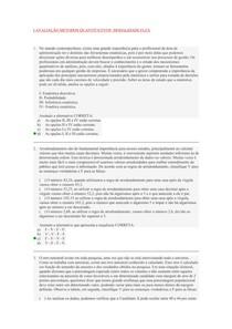AVALIAÇÃO I, II e III  METODOS QUANTITATIVOS
