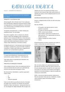 radiologia torácica