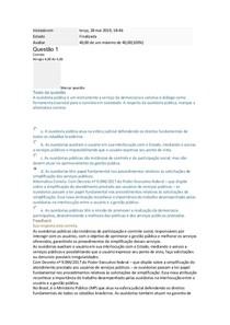 DEFESA DO USUÁRIO E SIMPLIFICAÇÃO II