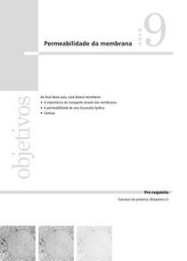 Bio Cel I 09 Permeabilidade da Membrana