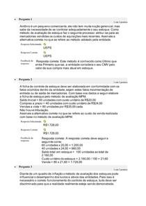 Atividade 4 contabilidade intermediaria